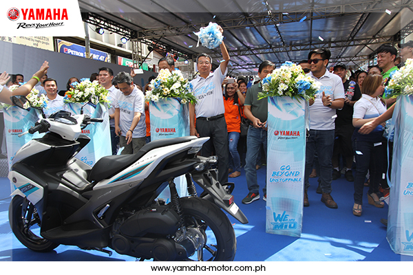 YAMAHA GOES BEYOND UNSTOPPABLE IN CALOOCAN