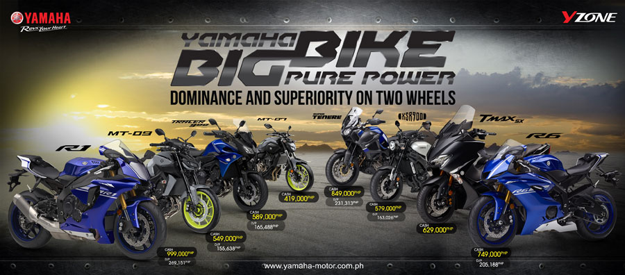 Yamaha introduces bolt motorcycle philippines for Yamaha philippines price list 2017